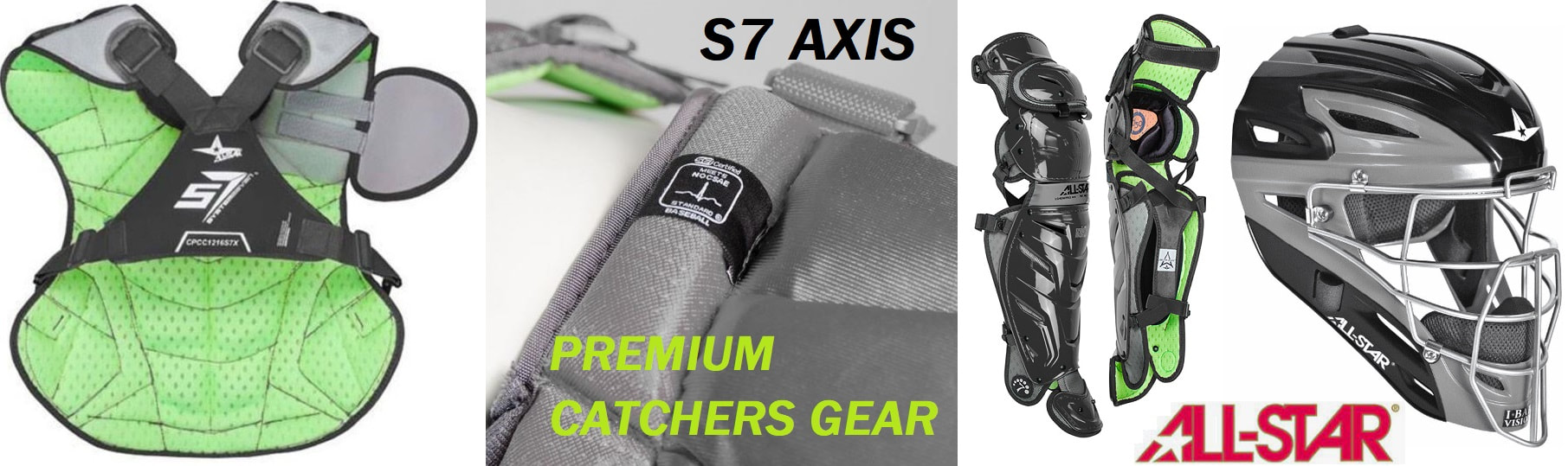 All-Star s7 AXIS Catchers Gear