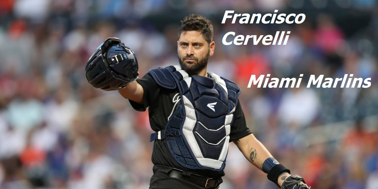 Francisco Cervelli Miami Marlins Catcher